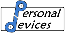 personal devices logo- Technological product development